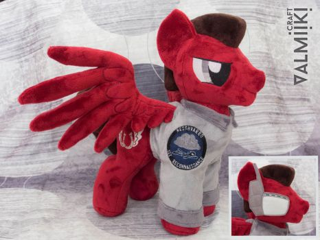 Plush Mach from the Fallout Equestria: Outlaw by Valmiiki