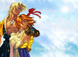 Tidus and Yuna by Lodias