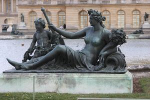 Versailles Fountain revisited by 914four