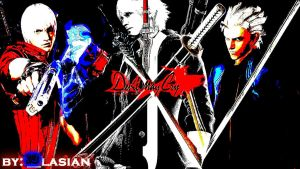 Devil May Cry Collage Version 2 by blasiankid