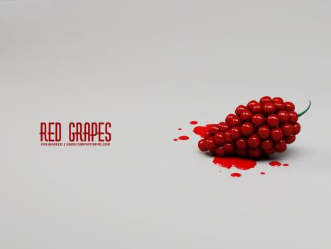 Red Grapes by innovation4d