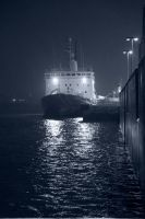 Ship in the snow by danielgregoire