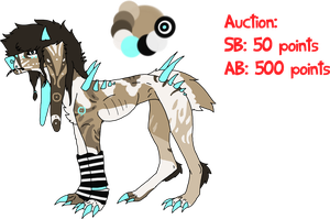 Auction : Wolf [ closed ] by NEAVITZ-ADOPTS