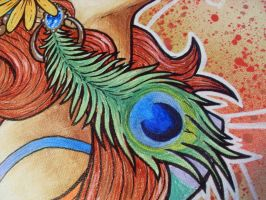 Gypsy Painting detail 2 by Kelden17