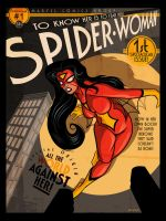 Spider Woman 1 Cover Remix by PaulSizer