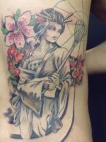geisha tattoo 14 by mojoncio