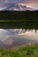 Mt. Rainier - Reflection Lake by heyfever99