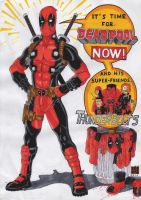 Deadpool NOW! (2-colors) by GabRed-Hat