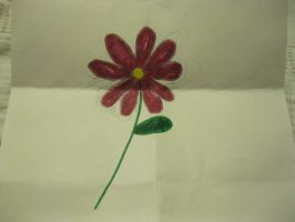 Red Daisy by moulinrougegirl77