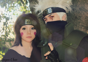 Kakashi and Rin Cosplay by Reigan-Chan