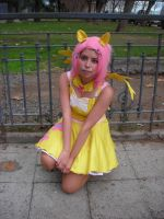 Fluttershy Cosplay by cacoxima