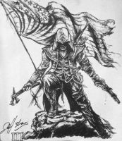 Connor Kenway by inhibitus