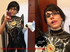 Bayonetta 2 cosplay - Testing the watch ^^ WIP by JudyHelsing