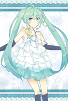 Vocaloid - Miku: Camellia by deliciosaBerry