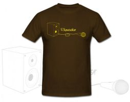 Rhymeauthor T-shirt design by Kings14