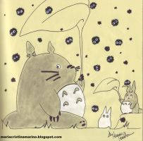 Totoro by HarleyQuinnC
