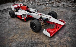 Lego Technic 42000 Grand Prix Racer by FordGT
