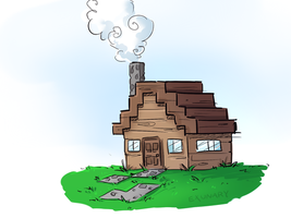 House Sketch by Exunary