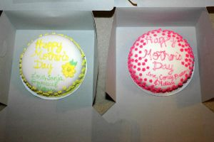 Mother's Day Cake Duo by christinaau