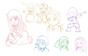 Harvest Moon Scribbles by Daidairo
