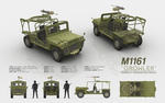 M1161 GROWLER - Internally Transportable Vehicle by cr8g