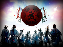 Shinsengumi by byezuke