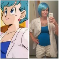 Just for fun Bulma cosplay by RikkuxStrife