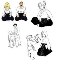 Commission - Aikido by LadyProphet