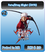 Fate Stay Night (2014) v2 - Anime Icon by Rizmannf