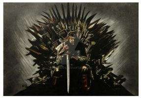 Ned Stark - Game of Thrones by Flaviovv