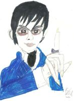 Barnabas Collins. 2012 by karutimburtonfan