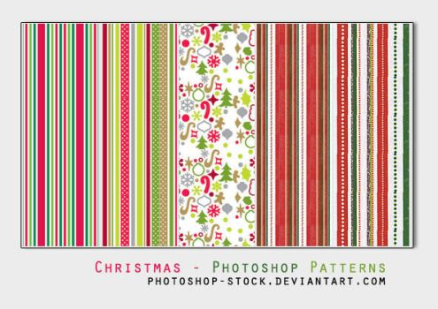 Christmas day - Ps Patterns by photoshop-stock