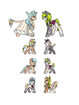 .: MLP Breedables ( 1/6 OPEN ) :. by maiithevamp