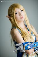 Lineage  II cosplay- Elf by PiccsyCrumples