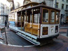 San Francisco cable car by Topaz172