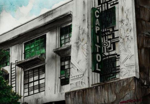 Capitol Theater - Escolta, Manila by migzmiguel08