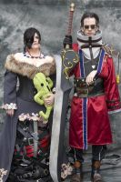 Lulu and Auron - Denver Comic Con by ArmarnaDelany
