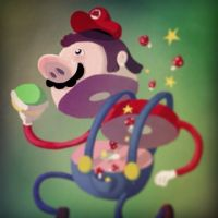 super mario by CanisOne