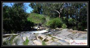 River at Manilla, NSW 2 by DesignKReations