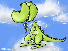 Dino Art Again by southercomfort
