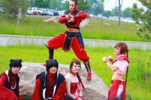 ColossalCon 2013 - Avatar Photoshoot 25 by VideoGameStupid