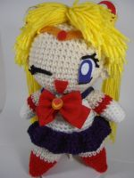 Arjeloops Sailor Moon Crochet Doll by Arjelyn B. by Arjeloops