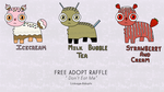 Free Adopts Raffle #2 [CLOSED] by Linkage-Adopts