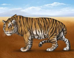 Lioden: Tiger Custom Decor by mrXylax