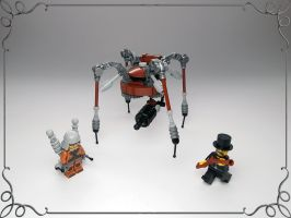 LEGO. Teslopus by DwalinF