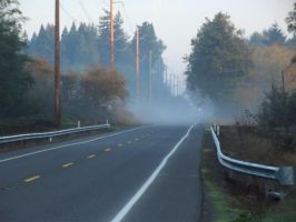 Misty morning on the road-08 by SkyfireDragon