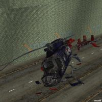 XNA Helicopter Crashed by X-N-A