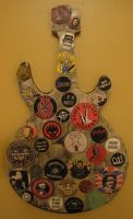 Punk Badge Guitar by My-Last-Duchess
