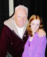 Me And Malcolm McDowell 2 by MouseAvenger