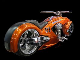 General Lee Bike by m-a-p-c